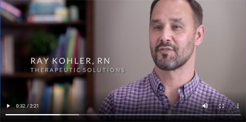 Image linking to video of patients discussing their bipolar disease and how Therapeutic Solutions helped them.